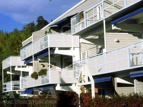 Alfa Malermester fasade leilighetskompleks
