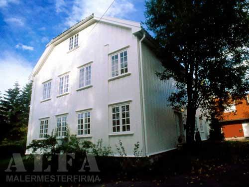 Alfa Malermester fasade gårdshus