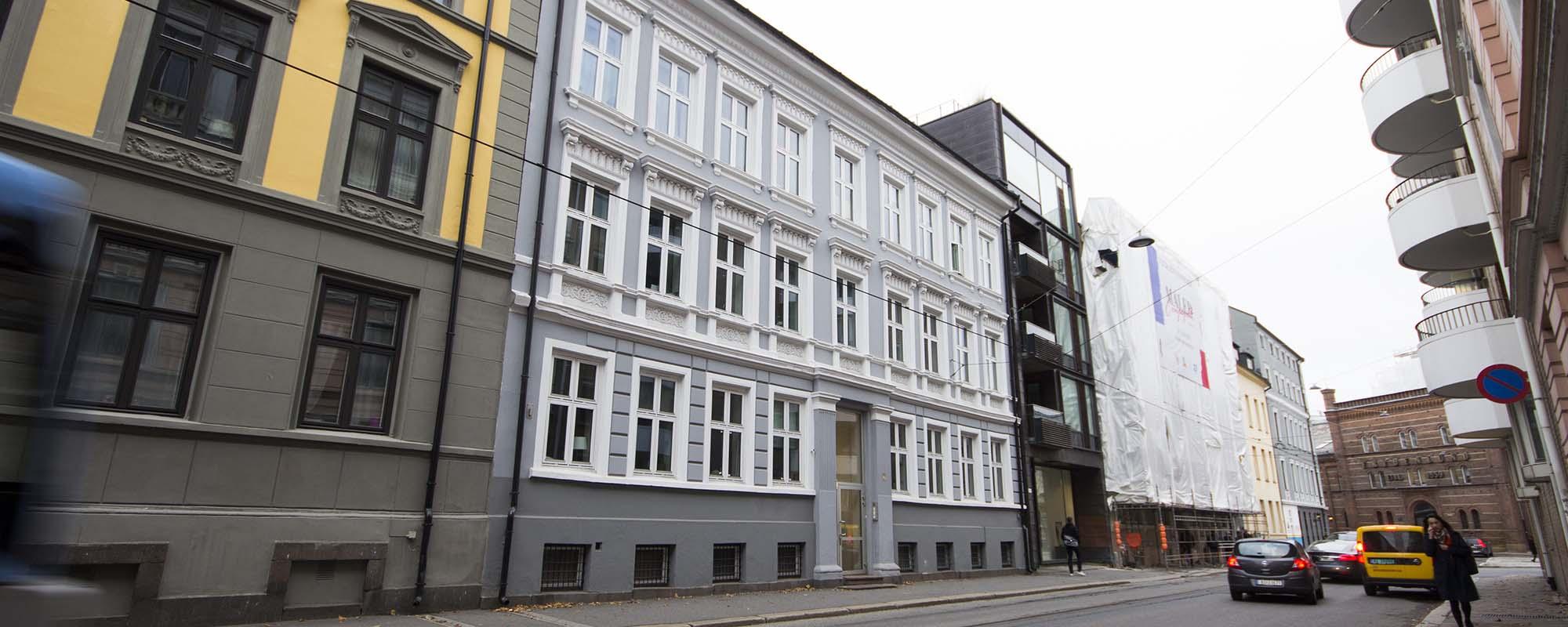 Parkveien 7 Fasade